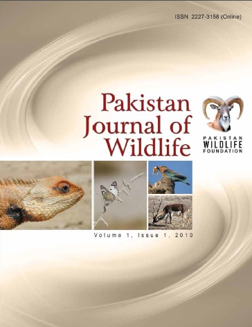 Pakistan Journal of Wildlife – Vol 1 Issue 1