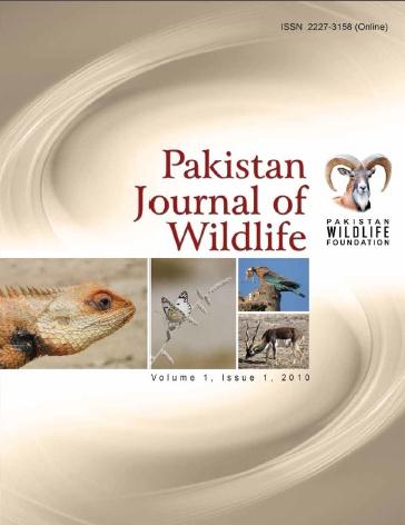 Pakistan Journal of Wildlife – Vol 1 Issue 1