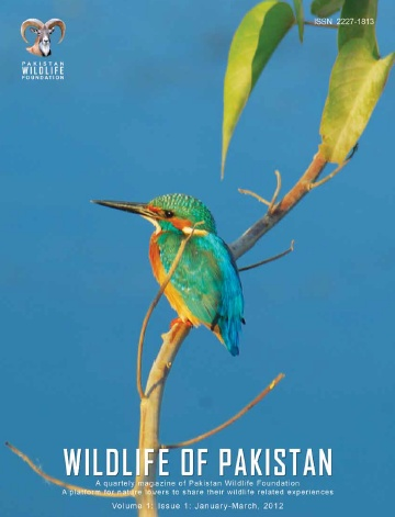 WILDLIFE OF PAKISTAN Volume 1 Issue 1